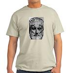 Greek Education Aristotle Ash Grey T-Shirt