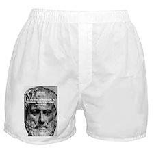 Greek Education Aristotle Boxer Shorts
