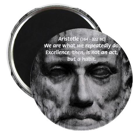 "Greek Education Aristotle 2.25"" Magnet (100 pack)"
