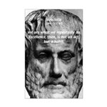 Greek Education Aristotle Mini Poster Print