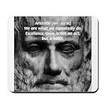 Greek Education Aristotle Mousepad