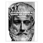 Greek Education Aristotle Small Poster