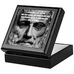 Greek Education Aristotle Keepsake Box