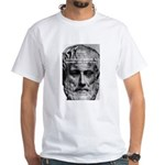 Greek Education Aristotle White T-Shirt