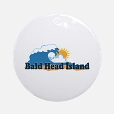 Bald Head Island NC -Beach Design Ornament (Round)