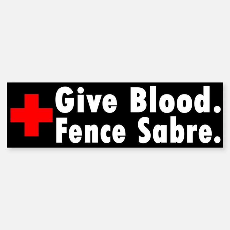 Blood Donation Bumper Bumper Bumper Sticker
