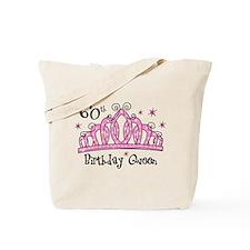 Tiara 60th Birthday Queen Tote Bag
