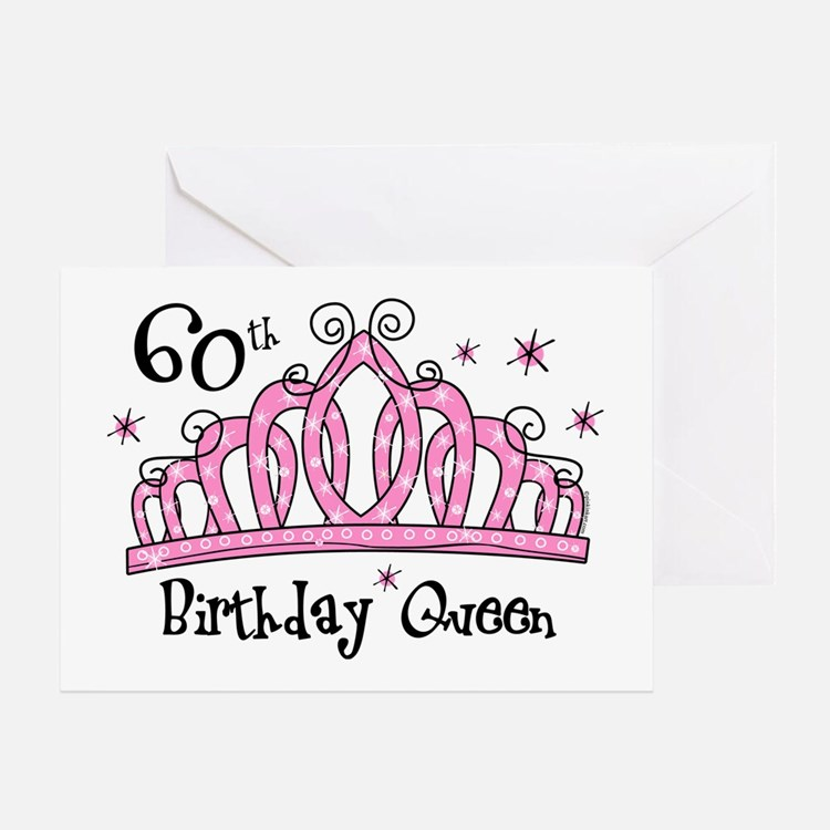 Sayings For 60th Birthday Card: 60Th Birthday Girl 60th Birthday Girl Greeting Cards