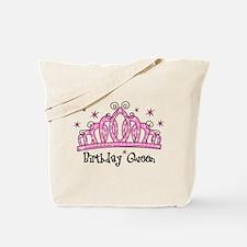 Tiara Birthday Queen Tote Bag