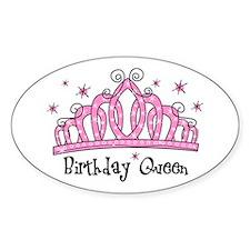 Tiara Birthday Queen Decal