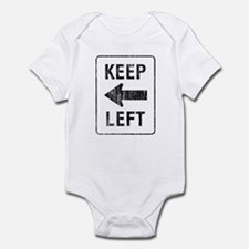 Keep Left Onesie