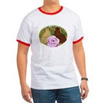 Trumpeter Pigeons and Rose Ringer T