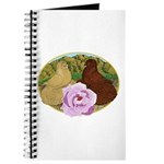 Trumpeter Pigeons and Rose Journal