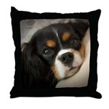 Cavalier king charles spaniel Cotton Pillows