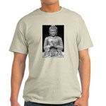 Buddha Education of Mind Ash Grey T-Shirt