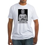 Buddha Education of Mind Fitted T-Shirt