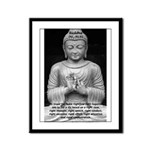 Buddha Education of Mind Framed Panel Print