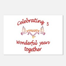 Cool Wedding 5 Postcards (Package of 8)
