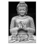 Buddha Education of Mind Large Poster