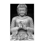 Buddha Education of Mind Mini Poster Print