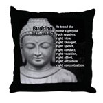 Buddha Education of Mind Throw Pillow