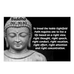 Buddha Education of Mind Postcards (Package of 8)