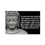 Buddha Education of Mind Rectangle Magnet