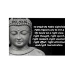 Buddha Education of Mind Rectangle Magnet (10 pack