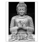 Buddha Education of Mind Small Poster