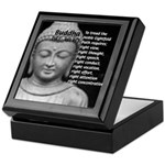 Buddha Education of Mind Keepsake Box