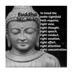 Buddha Education of Mind Tile Coaster
