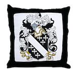Lake Coat of Arms Throw Pillow