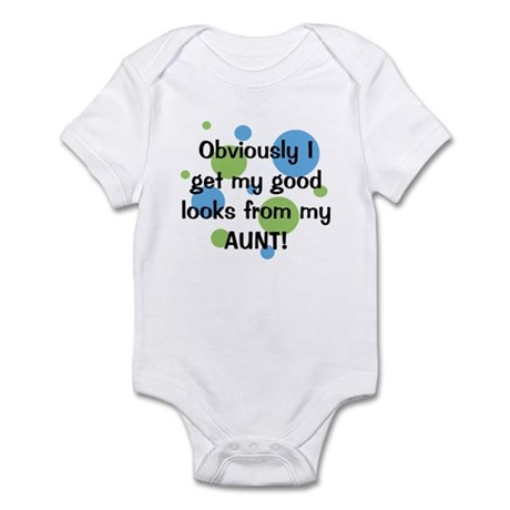 Good Looks from Aunt Infant Bodysuit