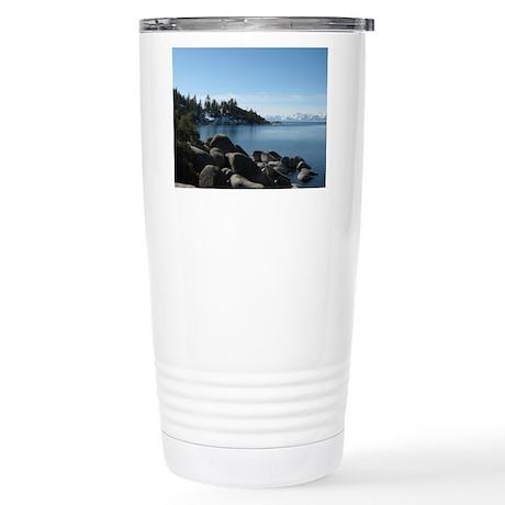 Incline, Lake Tahoe Stainless Steel Travel Mug