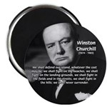 Churchill Fear of Truth Magnet