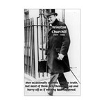 Churchill Fear of Truth Mini Poster Print