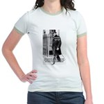 Churchill Fear of Truth Jr. Ringer T-Shirt