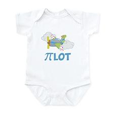 Pi-lot Math Boy Infant Bodysuit