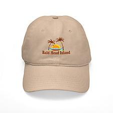 Bald Head Island NC - Sun and Palm Trees Design Ca