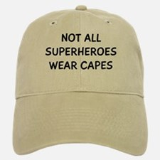 Not Superheroes Baseball Baseball Cap