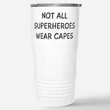 Not Superheroes Stainless Steel Travel Mug
