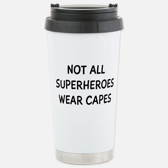 Not Superheroes Travel Mug