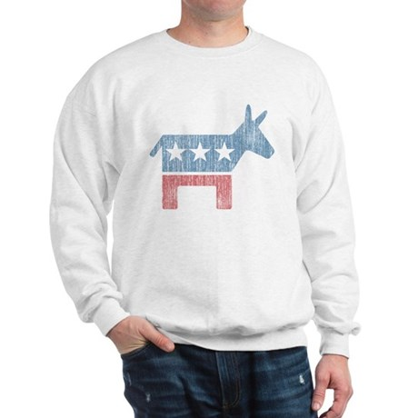Vintage Democrat Donkey Sweatshirt