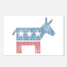 Vintage Democrat Donkey Postcards (Package of 8)