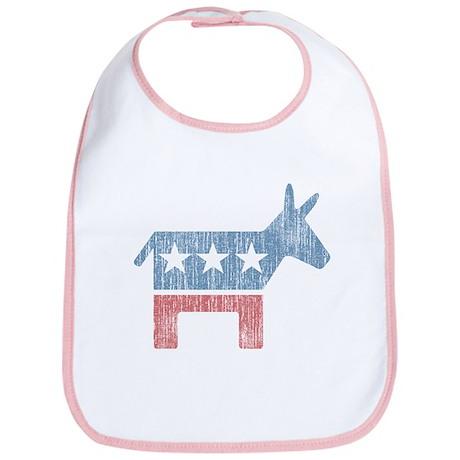 Vintage Democrat Donkey Bib
