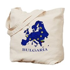 European Union - Bulgaria Tote Bag