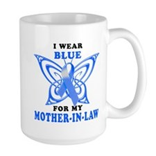 I Wear Blue for my Mother-In-Law Mug