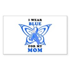 I Wear Blue for my Mom Decal