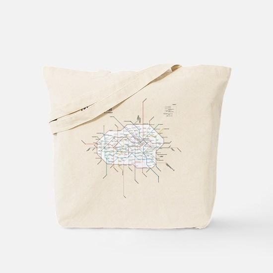 Cool Berlin Tote Bag