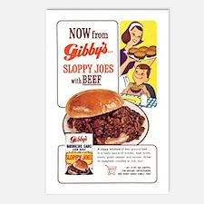 'Sloppy' Postcards (Pkg of 8)